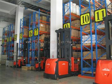 5m / 16.5 FT Height Narrow Ailse Industrial Pallet Rack System Saving Space & Manpower